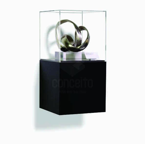 Caixa com Pedestal em acrilico Pequeno