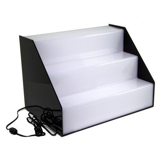 Display com LED em arquibancada