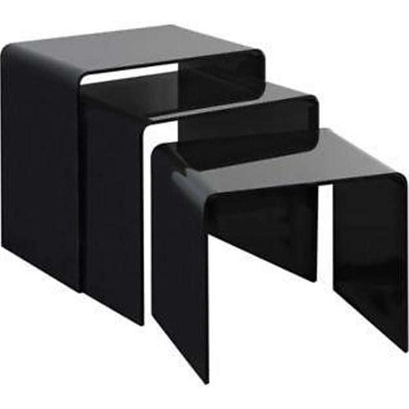 Conjunto de mesas pretas