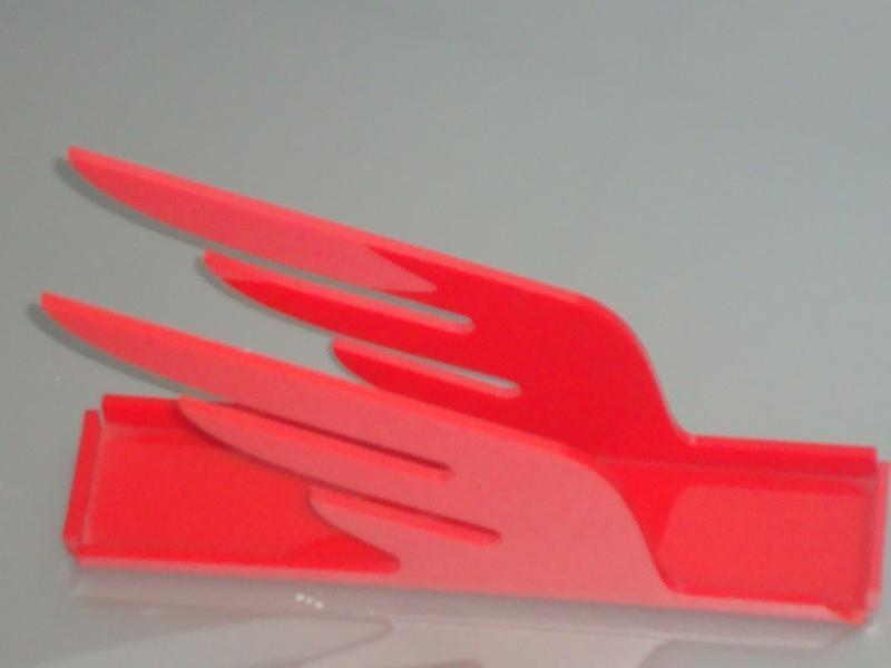 Porta guardanapo com recorte a laser