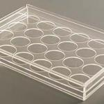 Cubo de acrílico para vitrine